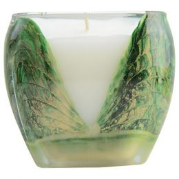 WREATH GREEN CASCADE CANDLE by - Type: Scented
