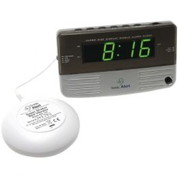 Sonic Alert(R) SB200ss Sonic Boom(R) Travel Alarm Clock with Super Shaker(TM)