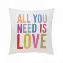 All You Need Is Love Decorative Pillow