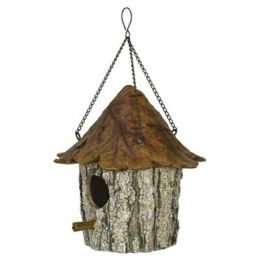 Rivers Edge Oak and Tree Leaf Birdhouse 615