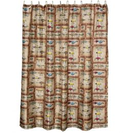 Rivers Edge Antique Lure Showercurtain 760