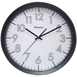 "Westclox 14"" Round Office Wall Clock NYL32067"