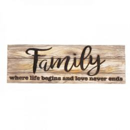 Family Decorative Sign