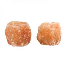 Rock Salt Tea Light Holder Set Of 2