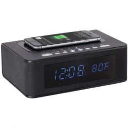 Sxe Wireless-charging & Bluetooth Digital Alarm Clock NYLSXE87005