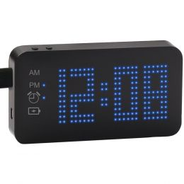 Sxe 4,000mah Portable Power Bank Alarm Clock NYLSXE87004