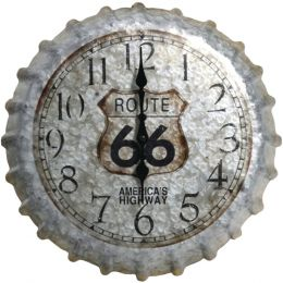 "Springfield 22"" Oversized Heirloom Clock (bottle Cap) TAP98270"