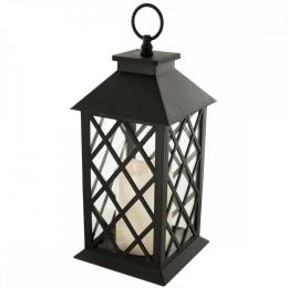 Decorative Led Lantern With Candle OS336