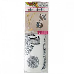 Color Your Decal Feathers Peel & Stick Wall Decals Set OT613