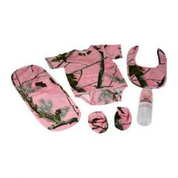 Rivers Edge Realtree Ap Hd Pink Baby Outfit