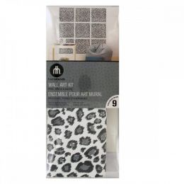 Leopard Blox Peel & Stick Wall Art Kit HG917